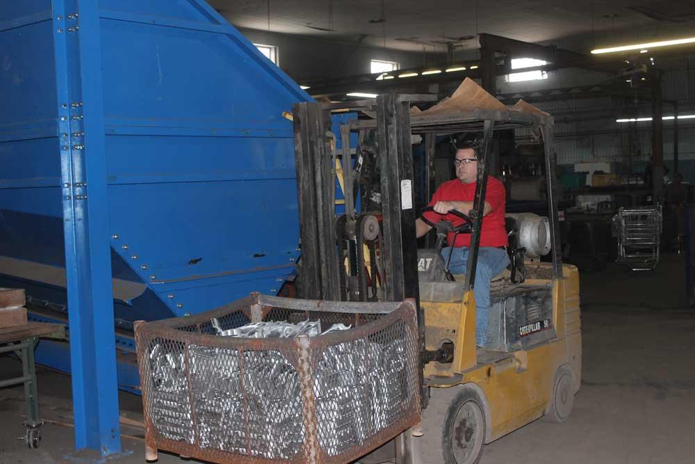 Aluminum Grinding Finish Manufacturing 2