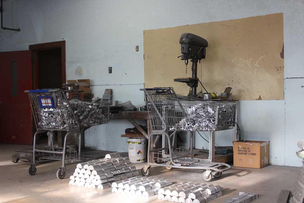 Aluminum Grinding Finish Manufacturing